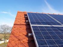 Aufdachsystem Photovoltaikanlage